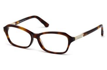Swarovski SK5086 Eyeglass Frames - Dark Havana Frame Color