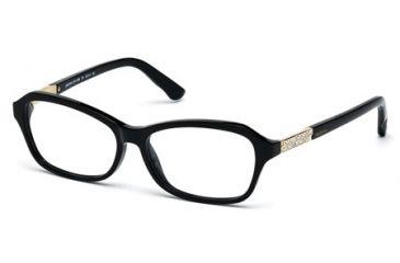 Swarovski SK5086 Eyeglass Frames - Shiny Black Frame Color