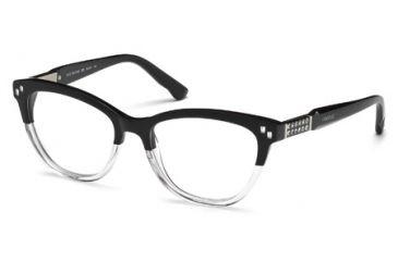 Swarovski SK5088 Eyeglass Frames - Black Frame Color