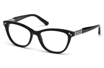 Swarovski SK5088 Eyeglass Frames - Shiny Black Frame Color