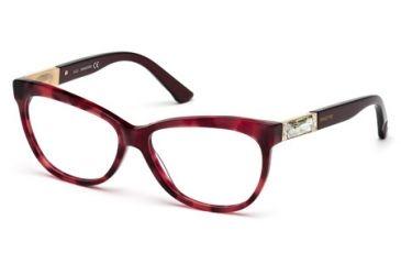 Swarovski SK5091 Eyeglass Frames - Havana Frame Color