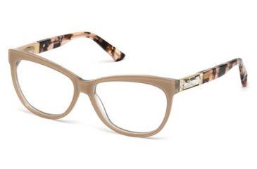 Swarovski SK5091 Eyeglass Frames - Shiny Pink Frame Color