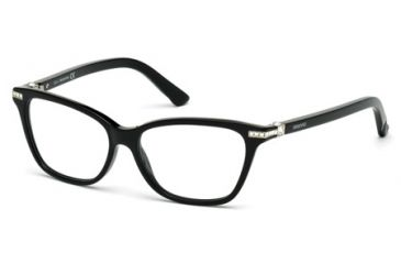 0350cf1657ce Swarovski SK5153 Eyeglass Frames - Shiny Black Frame Color