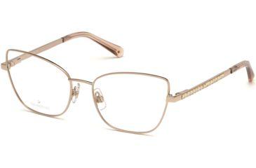 13f60f08f5 Swarovski SK5287 Eyeglass Frames - Shiny Rose Gold Frame Color