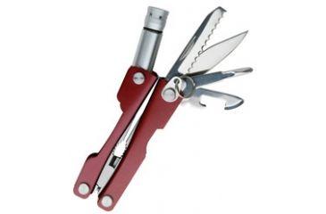 SwissTech Key Ring Multi-Tool 8-in-1, Red STT35000