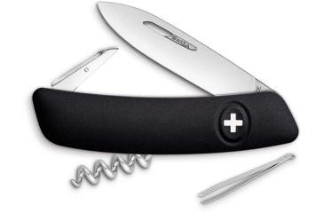 bec74313744 Swiza D01 Swiss Pocket Knife Black Folding Knife