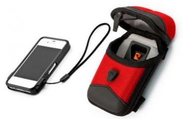 T-Reign ProLink iPhone 4/4S Smartphone Case and ProCase Gear Protector Combo, Red, Medium 0TBP-0042