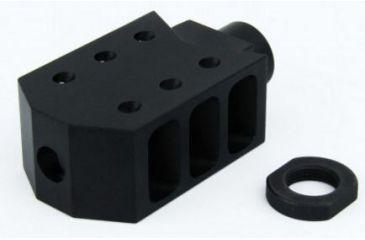 2-Tacfire .223/.556 1/2inX28 Thread 50 Cal Style Muzzle Brake
