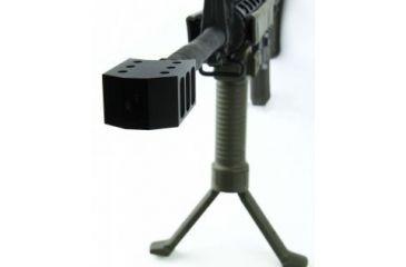 7-Tacfire .223/.556 1/2inX28 Thread 50 Cal Style Muzzle Brake