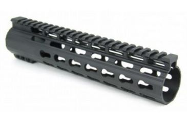 16-Tacfire Slim Keymod Free Float Clamp-On Style Hand Guard w/Detachable Rail