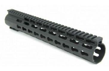 14-Tacfire Slim Keymod Free Float Clamp-On Style Hand Guard w/Detachable Rail