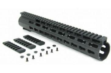 8-Tacfire Slim Keymod Free Float Clamp-On Style Hand Guard w/Detachable Rail