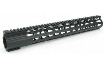 21-Tacfire Slim Keymod Free Float Clamp-On Style Hand Guard w/Detachable Rail