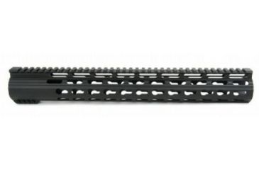 32-Tacfire Slim Keymod Free Float Clamp-On Style Hand Guard w/Detachable Rail