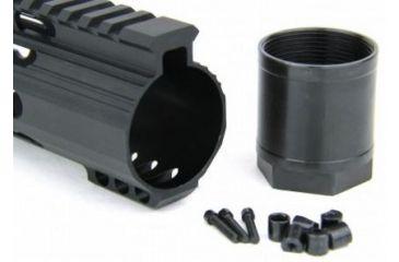 37-Tacfire Slim Keymod Free Float Clamp-On Style Hand Guard w/Detachable Rail