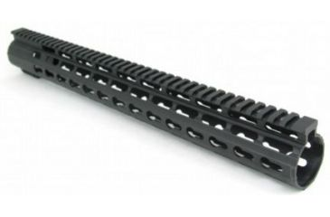 7-Tacfire Slim Keymod Free Float Clamp-On Style Hand Guard w/Detachable Rail