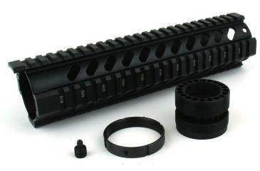 15-Tacfire Slim Keymod Free Float Clamp-On Style Hand Guard w/Detachable Rail