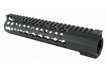 27-Tacfire Slim Keymod Free Float Clamp-On Style Hand Guard w/Detachable Rail