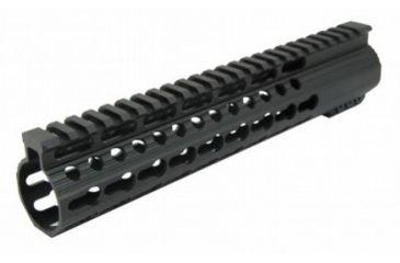 5-Tacfire Slim Keymod Free Float Clamp-On Style Hand Guard w/Detachable Rail