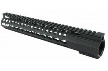 26-Tacfire Slim Keymod Free Float Clamp-On Style Hand Guard w/Detachable Rail