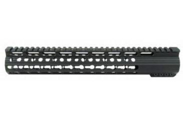 18-Tacfire Slim Keymod Free Float Clamp-On Style Hand Guard w/Detachable Rail