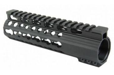 25-Tacfire Slim Keymod Free Float Clamp-On Style Hand Guard w/Detachable Rail