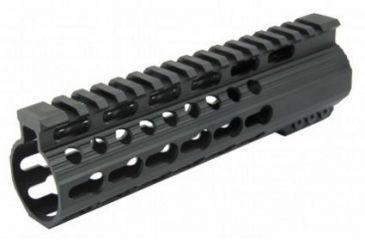 1-Tacfire Slim Keymod Free Float Clamp-On Style Hand Guard w/Detachable Rail