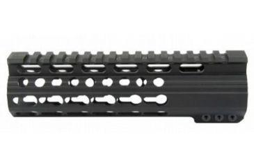 22-Tacfire Slim Keymod Free Float Clamp-On Style Hand Guard w/Detachable Rail