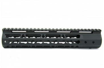 10-Tacfire AR15 Ultra Slim KeyMod Free Float Hand Guard w/Detachable Rails