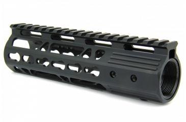 30-Tacfire AR15 Ultra Slim KeyMod Free Float Hand Guard w/Detachable Rails
