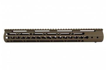 16-Tacfire AR15 Ultra Slim KeyMod Free Float Hand Guard w/Detachable Rails
