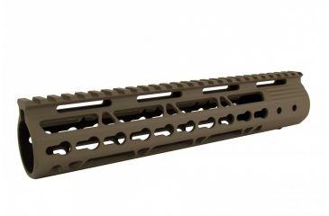 6-Tacfire AR15 Ultra Slim KeyMod Free Float Hand Guard w/Detachable Rails