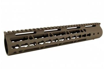 5-Tacfire AR15 Ultra Slim KeyMod Free Float Hand Guard w/Detachable Rails