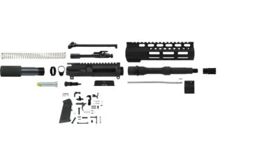 1-TacFire AR-15 5.56 Complete Upper Receiver w/ Pistol Lower Parts Kit