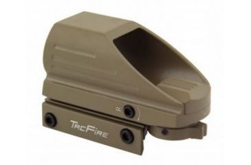 4-Tacfire Dual Illuminated Sight w/4 Different Reticles, Extended Hood Housing