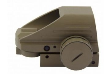 2-Tacfire Dual Illuminated Sight w/4 Different Reticles, Extended Hood Housing