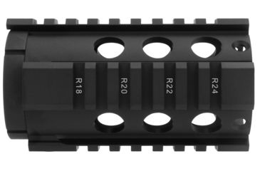 9-TacFire HG-05 2-Piece .308 Free-Float Tube Design AR Handguard
