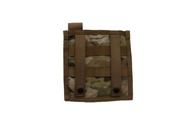 Tacprogear Admin/Flashlight Pouch, Multicam, Multicam P-ADFL1-MC