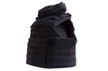 Tacprogear Commercial Modified Tactical Vest, Carrier, Medium, Black, Black, Medium V-CMTV1-BK-MD