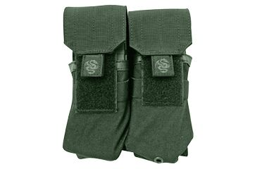 Tacprogear Double Rifle Mag Pouch, Olive Drab Green, Olive Drab Green P-DRM1-OD
