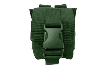 Tacprogear Fragmentation Grenade Pouch, Olive Drab Green, Olive Drab Green P-FRG1-OD