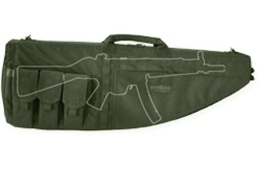 Tacprogear Personal Defense Weapons Case, Olive Drab Green, Olive Drab Green B-PDWC1-OD