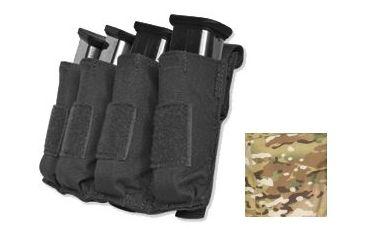 Tacprogear Quad Pistol Mag Pouch w/ Griptite, Multicam, Multicam P-QPGT1-MC