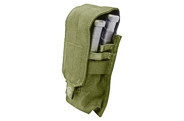 Tacprogear Staggered Rifle Mag Pouch, Coyote Tan, Coyote P-STGRM1-CT