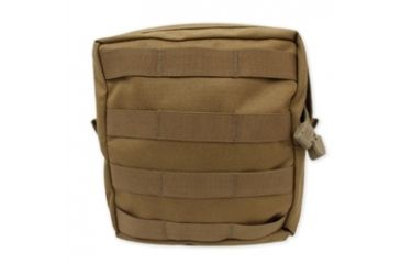 Tacprogear Utility Pouch, Large, Coyote Tan, Coyote, Large P-UTYLG1-CT