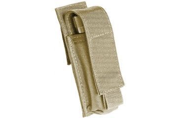 Tactical Assault Gear Duty 2 Battery Flashlight Pouch Coyote Tan 812639