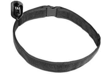 Tactical Assault Gear Duty Belt, Large 38-43in Waist, Black 812544