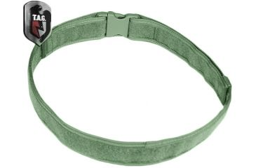 Tactical Assault Gear Duty Belt, Medium 32-37in Waist, Ranger Green 812542