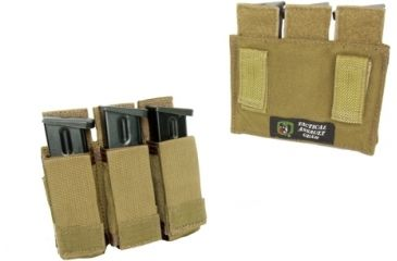 1-TAG Duty Enhanced Pistol Mag (3) Pouch