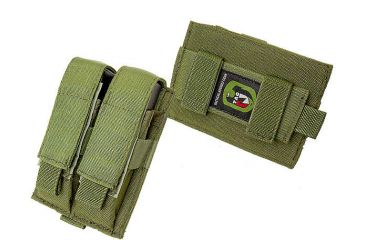 TAG Duty Horizontal/Vertical Pistol Mag (2) Pouch